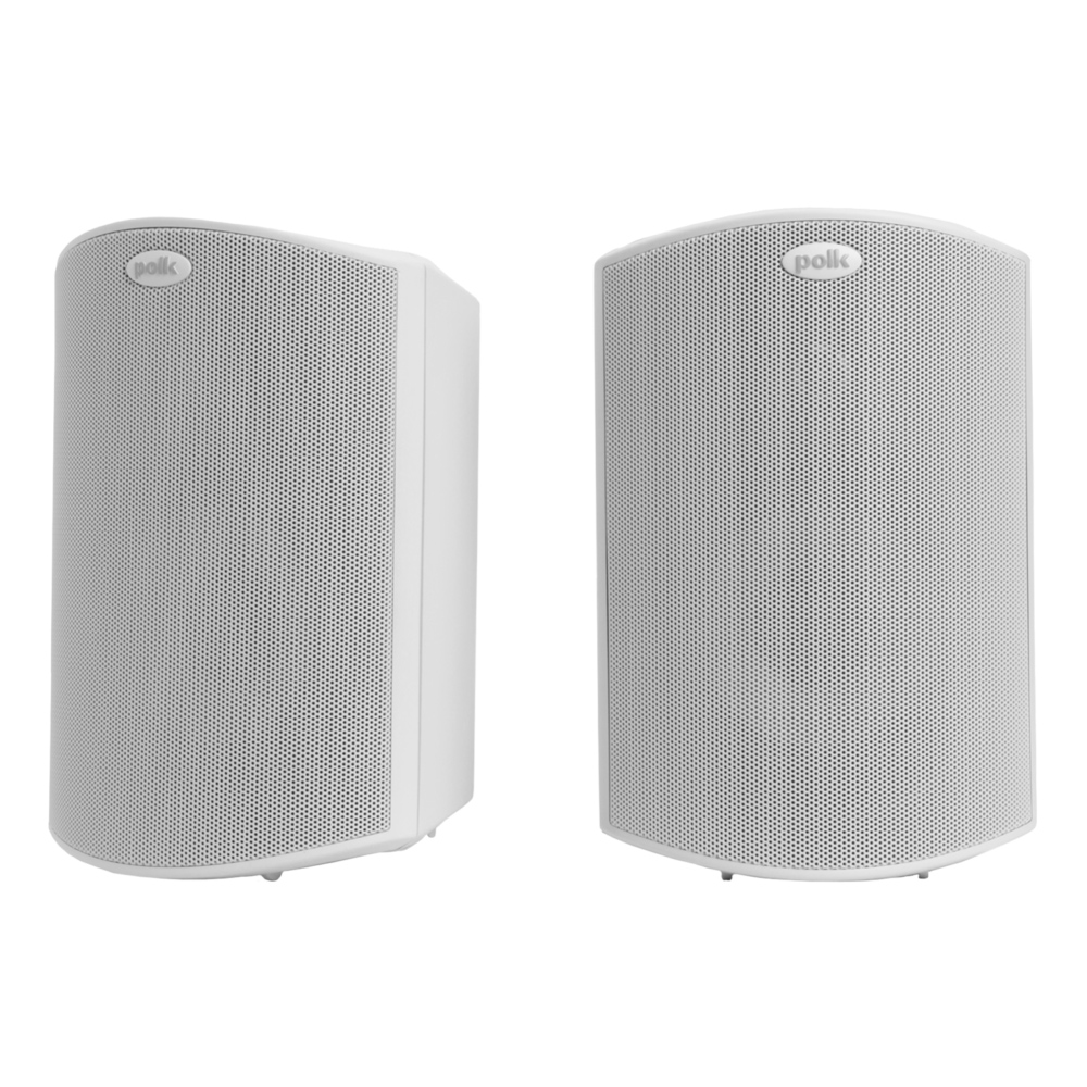 Polk Audio Atrium-4-WH White All Weather Outdoor Loudspeakers - Pair