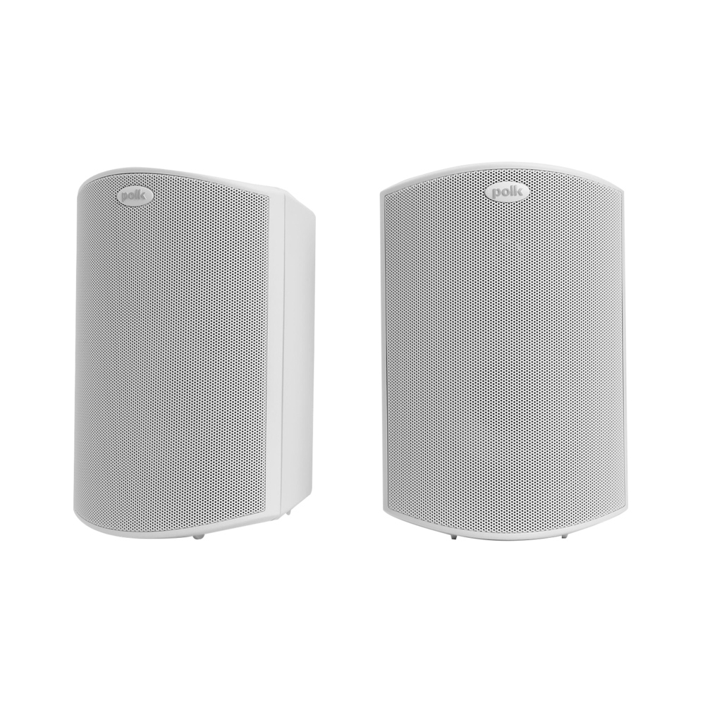 Polk Audio Atrium-5-WH White All Weather Outdoor Loudspeakers - Pair