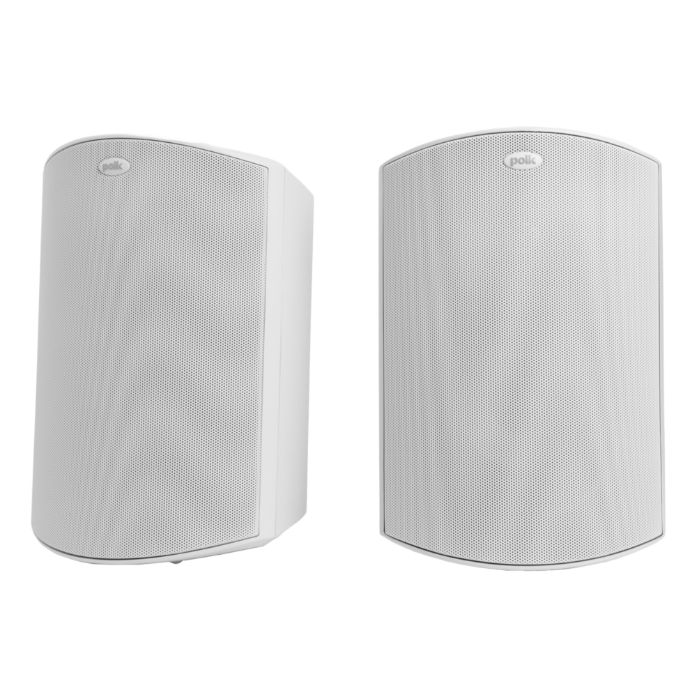 Polk Audio Atrium-6-WH White All Weather Outdoor Loudspeakers - Pair