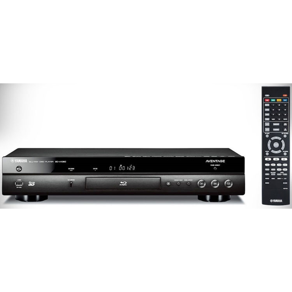 Yamaha BD-A1060BL Black Aventage Blu-Ray Disc Player