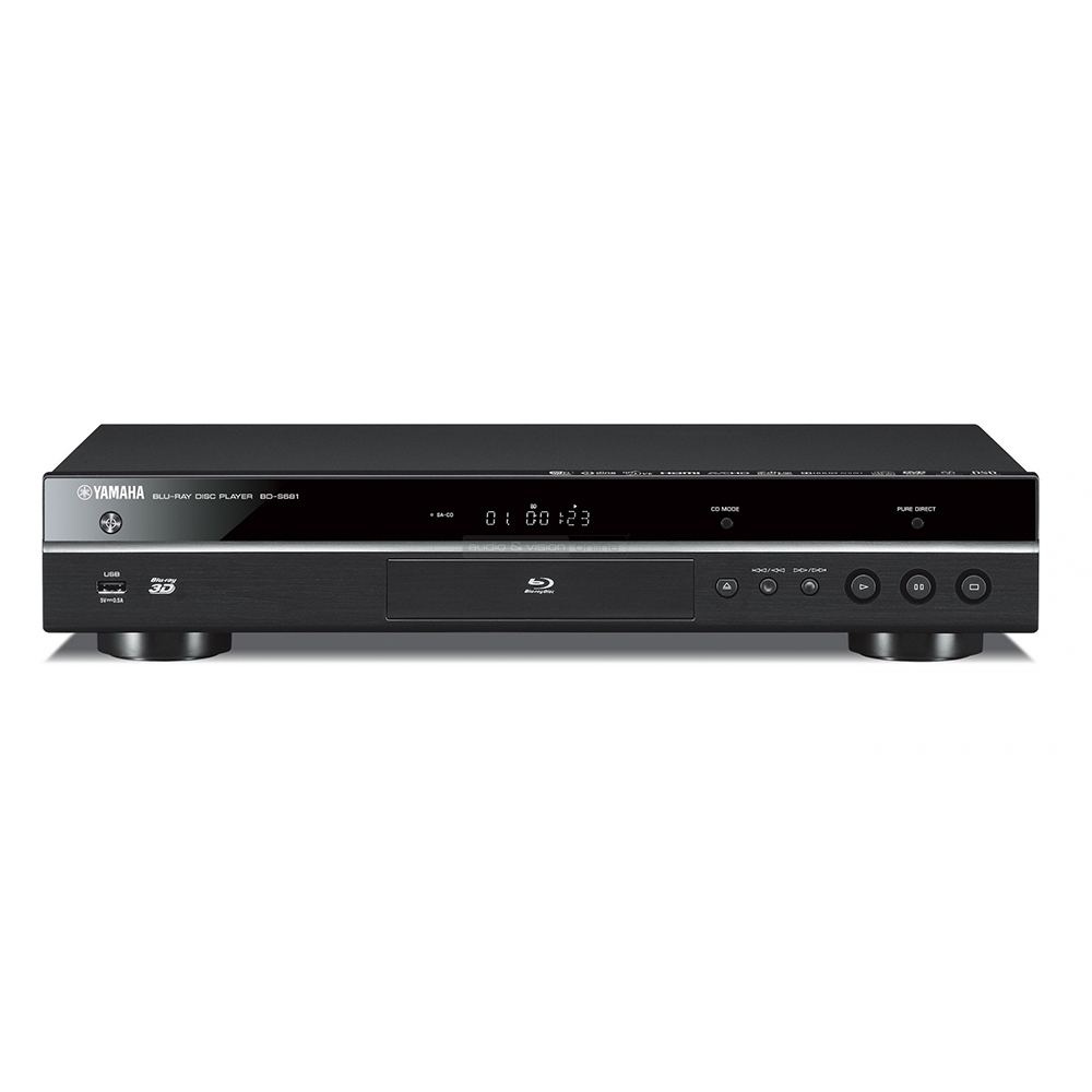 Yamaha BD-S681BL Black Hi-Fi Blu-Ray Disc Player