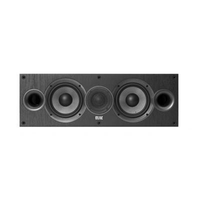 Elac Debut 2.0 C5.2 Black 2-way Center Channel Speaker