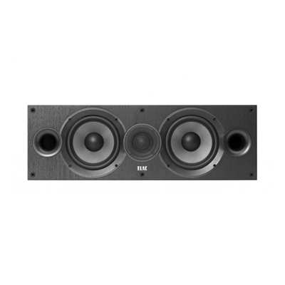 Elac Debut 2.0 C6.2 Black 2-way Center Channel Speaker