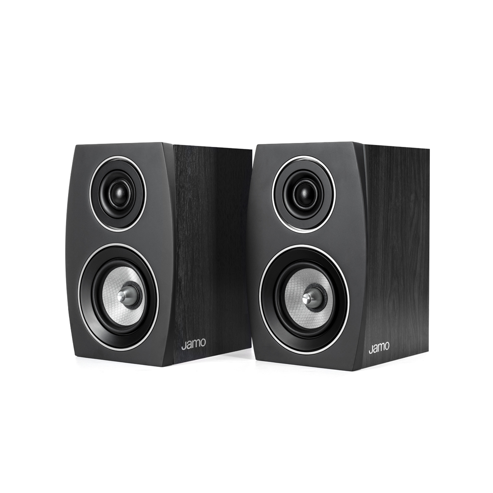 Jamo Concert Series C 91 II Black Ash Bookshelf Speaker