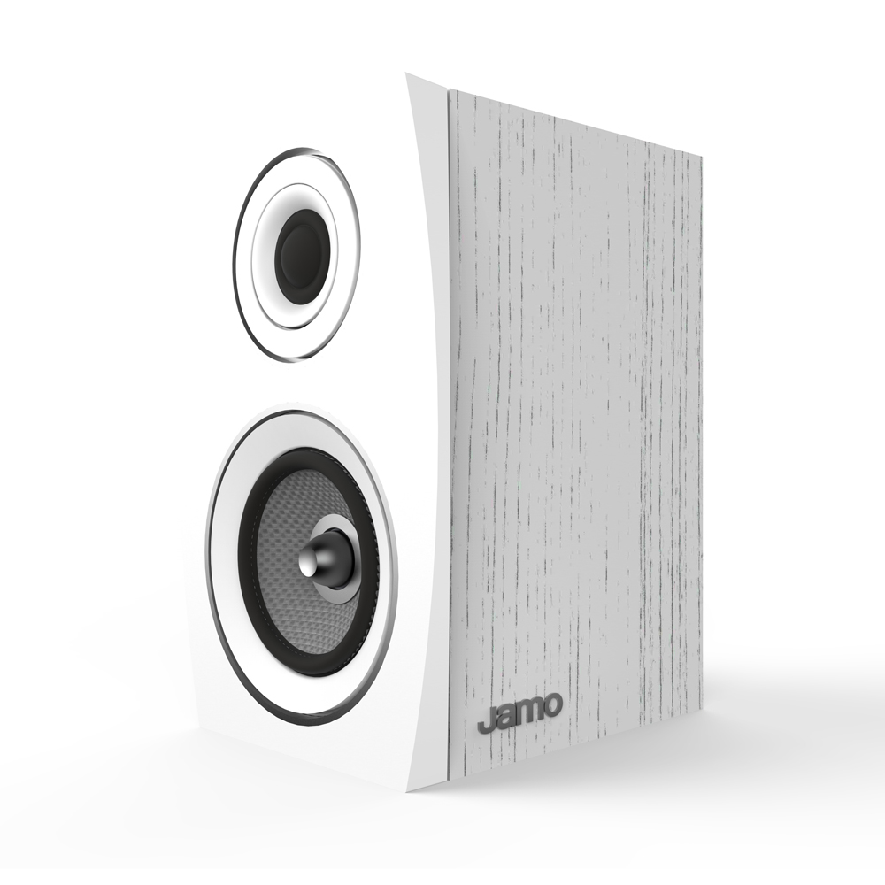 Jamo Concert Series C 91 II White Oak Bookshelf Speaker