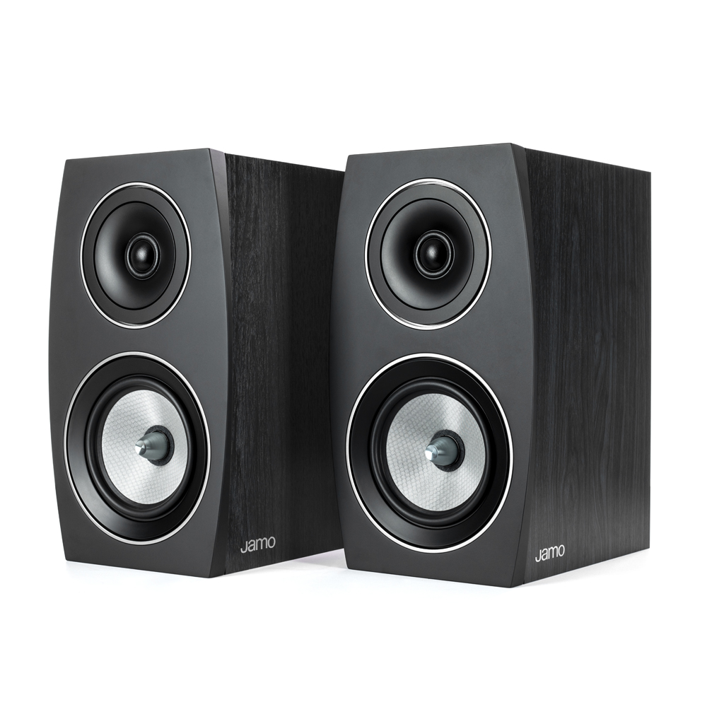 Jamo Concert Series C 93 II Black Ash Bookshelf Speaker