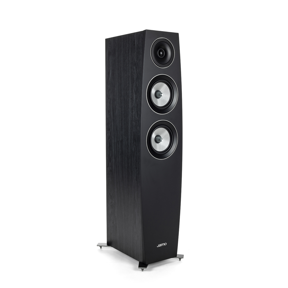 Jamo Concert Series C 95 II Black Ash Floorstanding Speaker