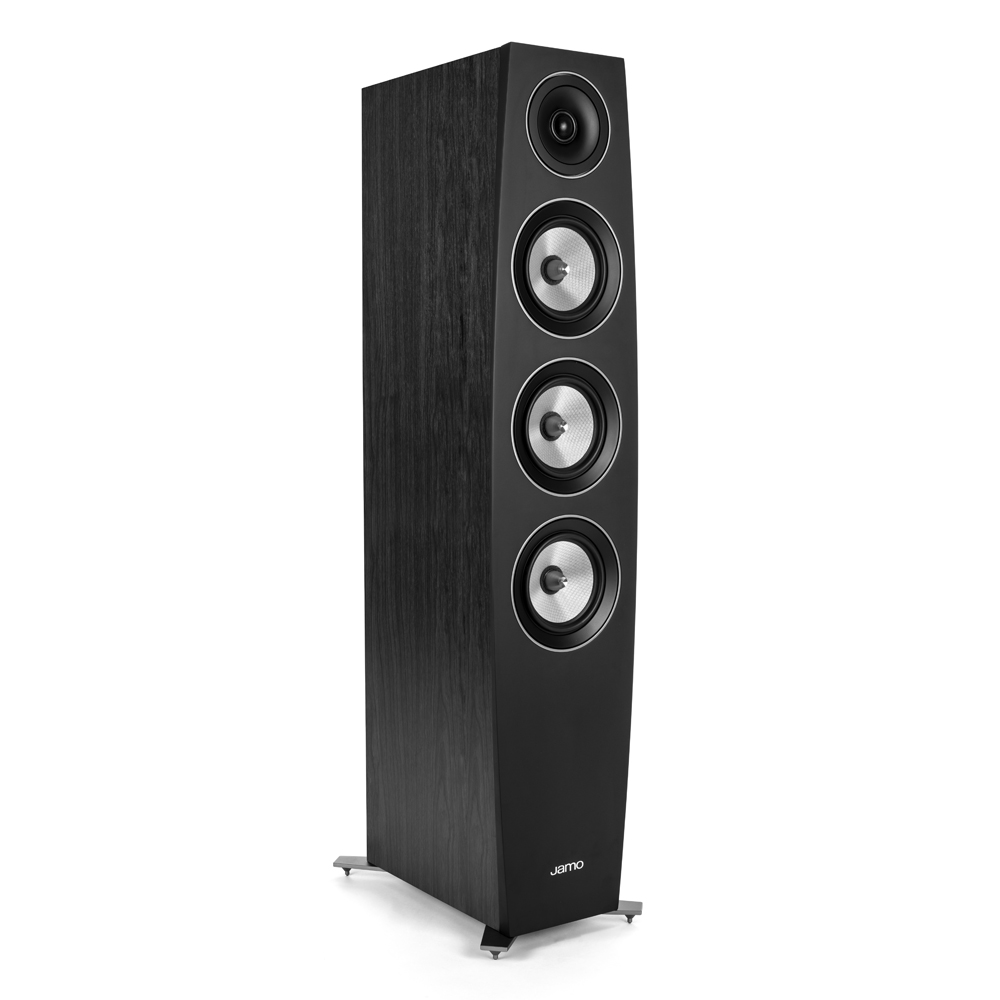 Jamo Concert Series C 97 II Black Ash Floorstanding Speaker
