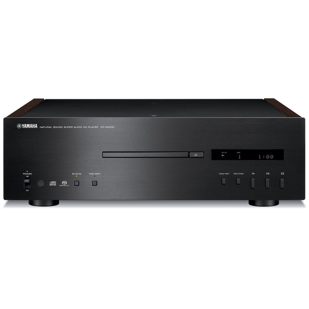 Yamaha CD-S1000BL Black Hi-Fi Audio CD Player