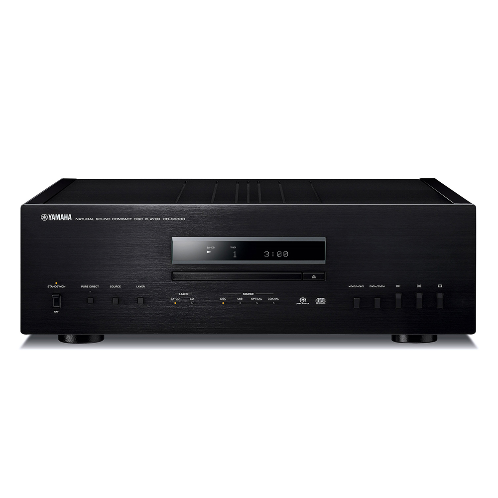 Yamaha CD-S3000SL Black Hi-Fi CD Player