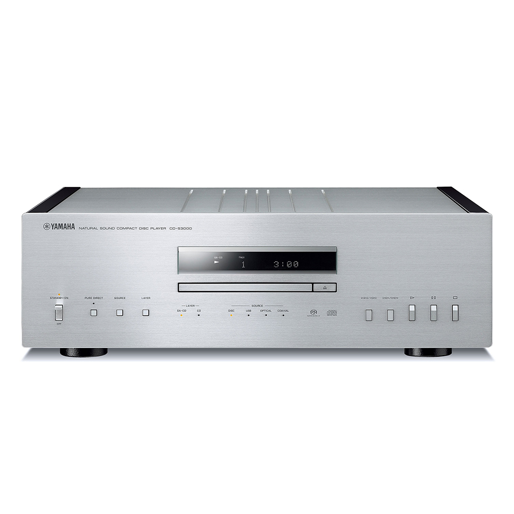 Yamaha CD-S3000SL Silver Hi-Fi CD Player
