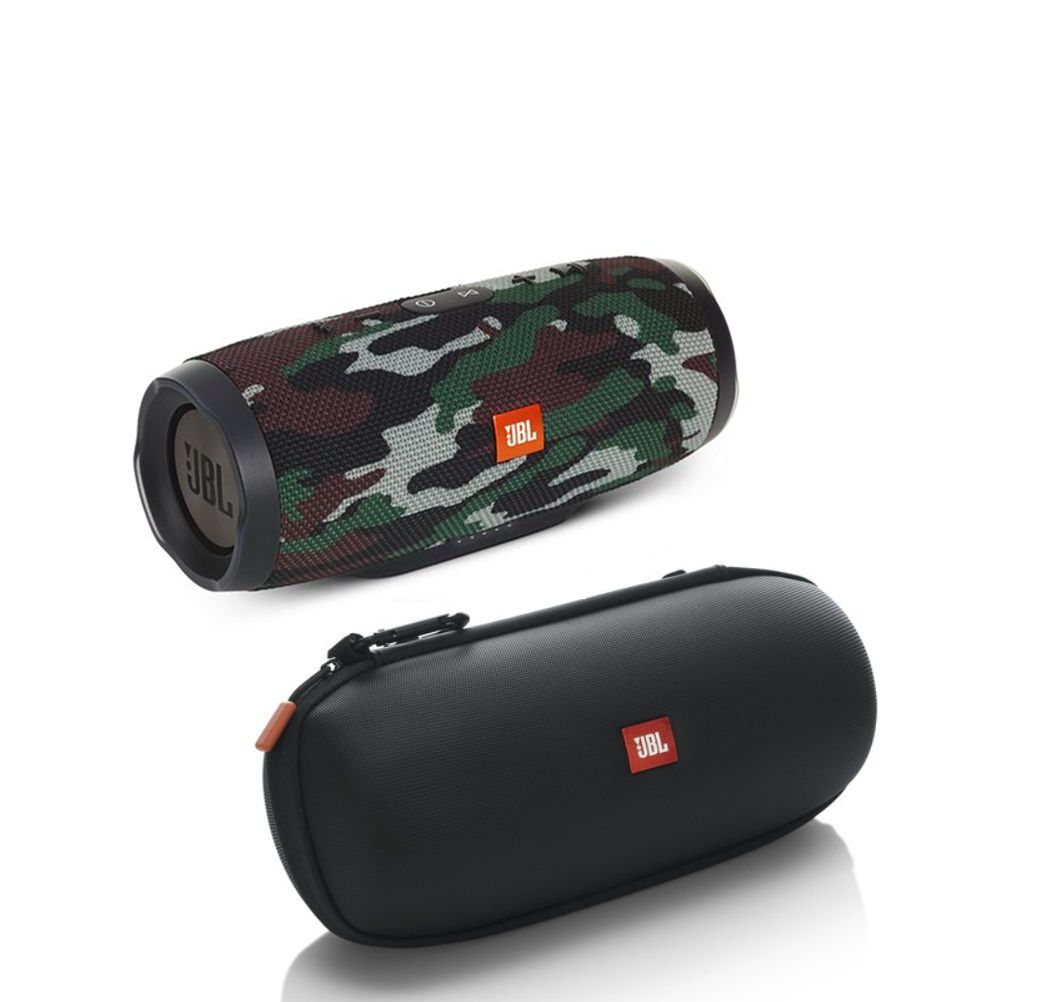 JBL Charge 3 - Camouflage with Authentic JBL Carrying Case