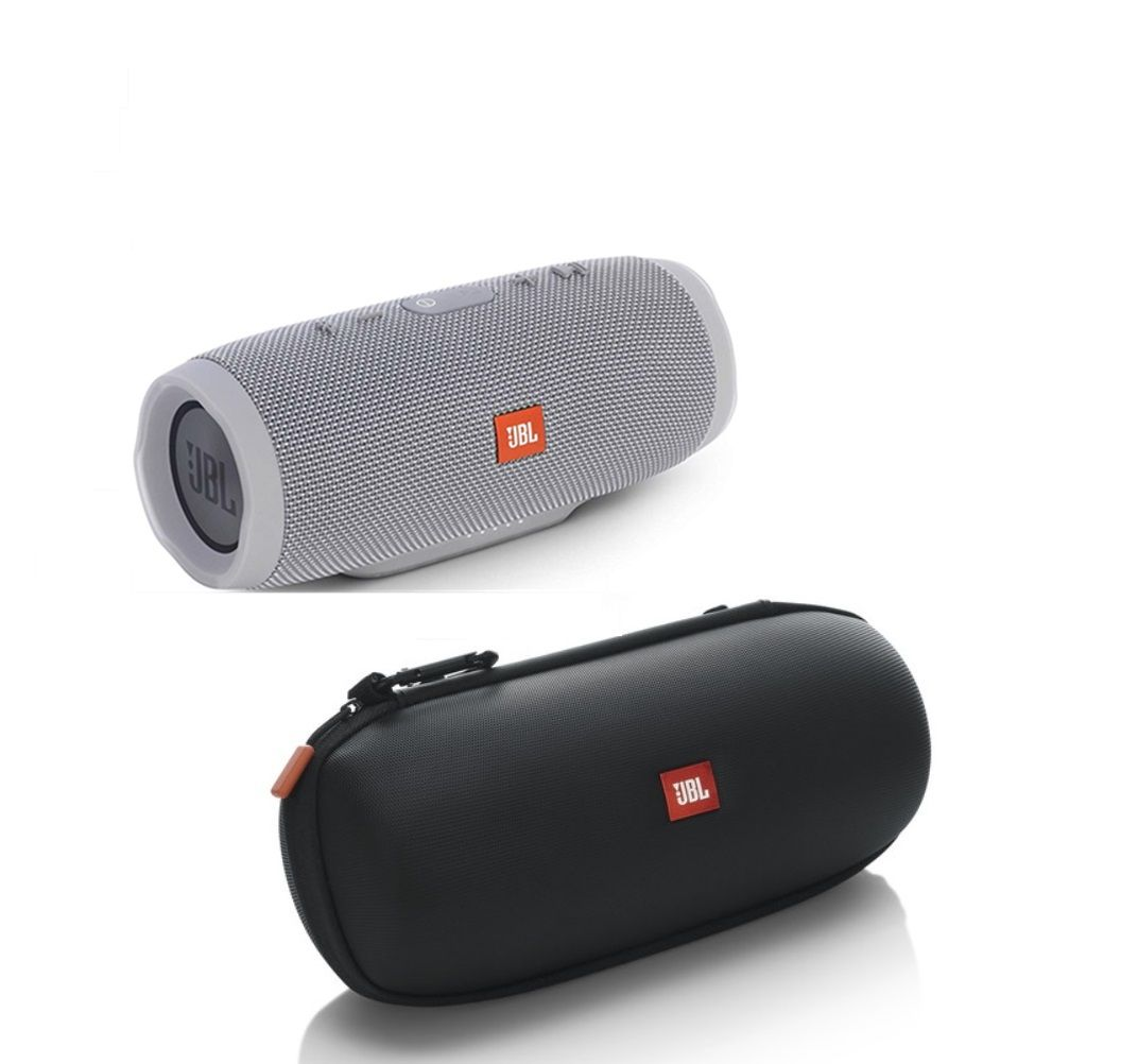 JBL Charge 3 - Gray with Authentic JBL Carrying Case
