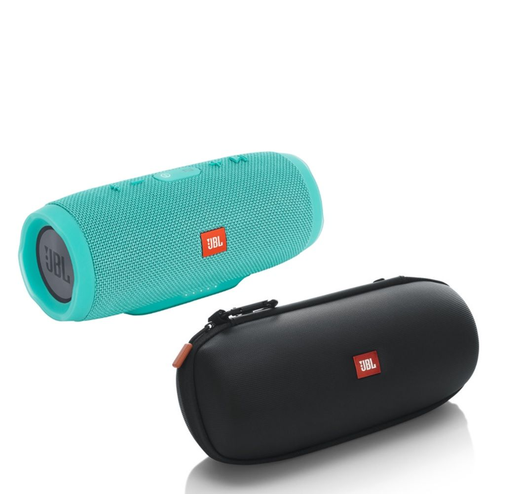 JBL Charge 3 - Teal with Authentic JBL Carrying Case