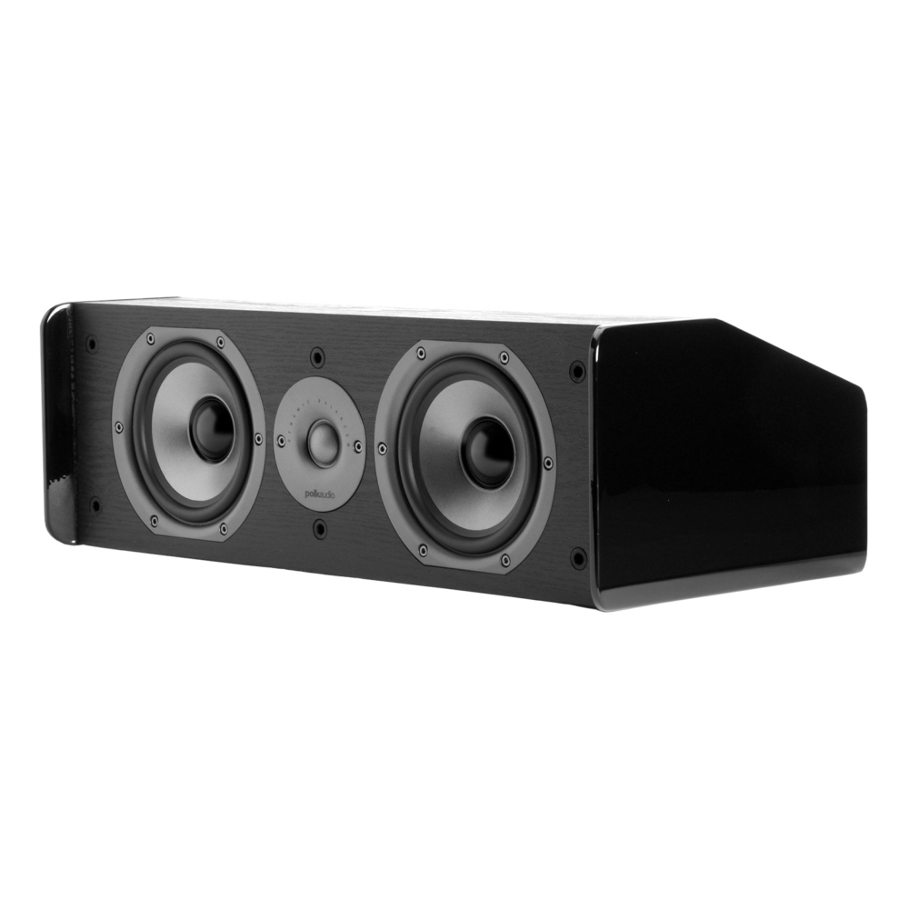 Polk Audio TSi Series CS10 Black 5.25-Inch Drivers with Center Channel Speaker