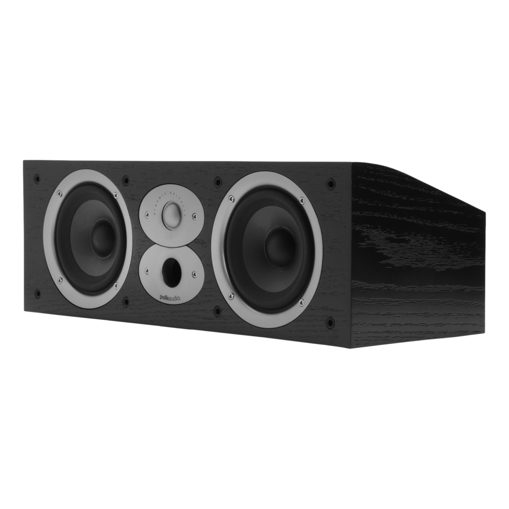 Polk Audio RTiA Series CSiA4-BLK Black High Performance Center Channel Speaker