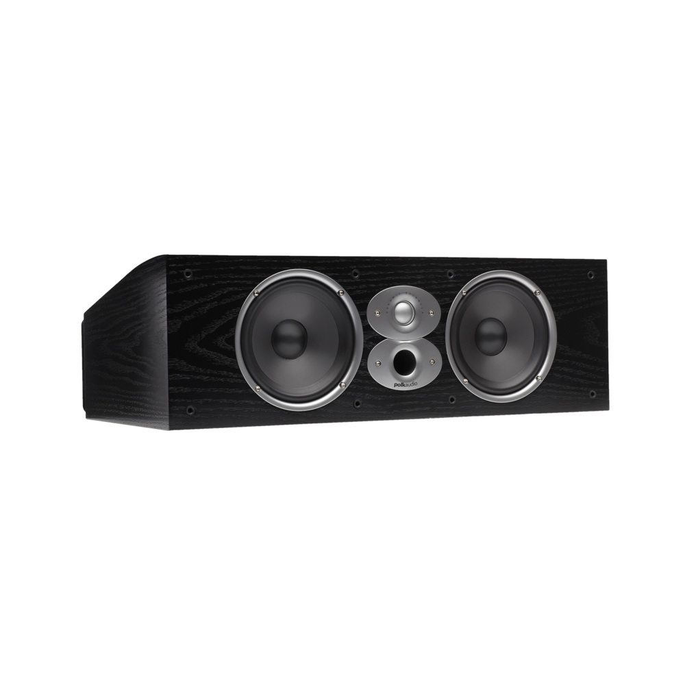 Polk Audio RTiA Series CSiA6-BLK Black High Performance Center Channel Speaker