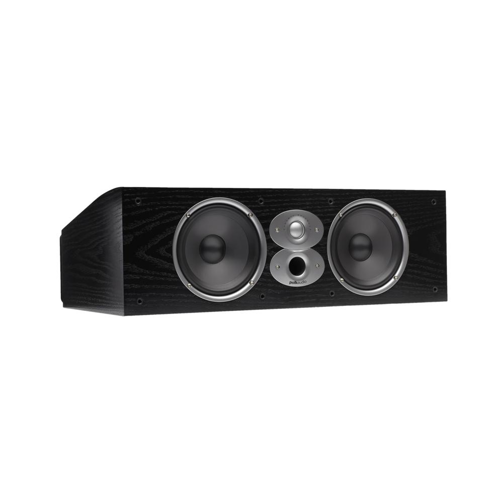 Polk Audio RTiA Series CSiA6-BLK Black High Performance Center Channel Speaker