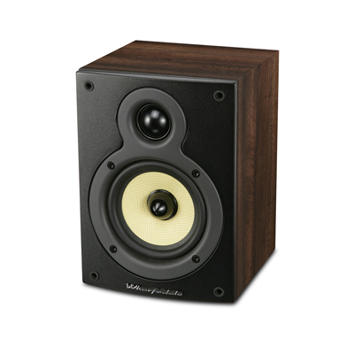 Wharfedale Crystal Series 4-inch 2-Way CR4.1-W Walnut Bookshelf Speaker - Pair