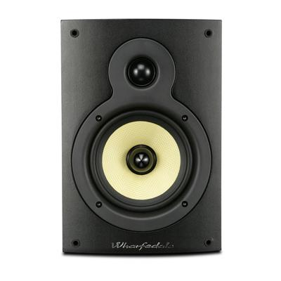 Wharfedale Crystal Series 4-inch 2-Way CR4.1 Black Ash Bookshelf Speaker - Pair