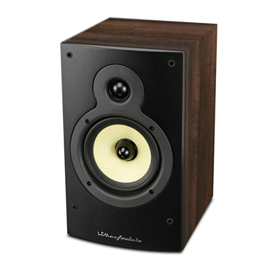 Wharfedale Crystal Series 5-inch 2-Way CR4.2-W Walnut Bookshelf Speaker - Pair