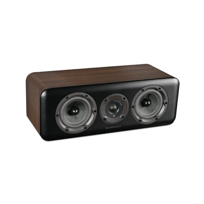 Wharfedale D300 Series Standard D300C-W Walnut Center Channel Speaker