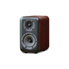 Wharfedale D300 Series 4-inch 2-Way D310-R Rosewood Bookshelf Speaker - Pair
