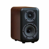 Wharfedale D300 Series 4-inch 2-Way D310-W Walnut Bookshelf Speaker - Pair