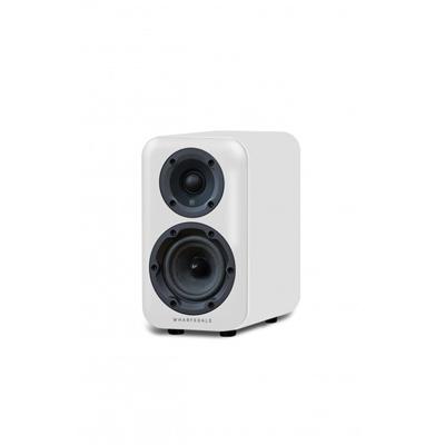 Wharfedale D300 Series 4-inch 2-Way D310-WH White Bookshelf Speaker - Pair