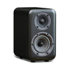 Wharfedale D300 Series 4-inch 2-Way D310 Black Bookshelf Speaker - Pair