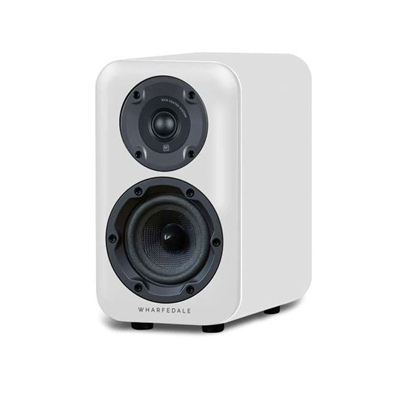 Wharfedale D300 Series 5.25-inch 2-Way D320-WH White Bookshelf Speaker - Pair