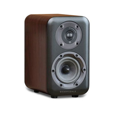 Wharfedale D300 Series 5.25-inch 2-Way D320-W Walnut Bookshelf Speaker - Pair