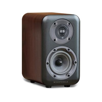 Wharfedale D300 Series 5.25-inch 2-Way D320-W Walnut Bookshelf Speaker - Pair