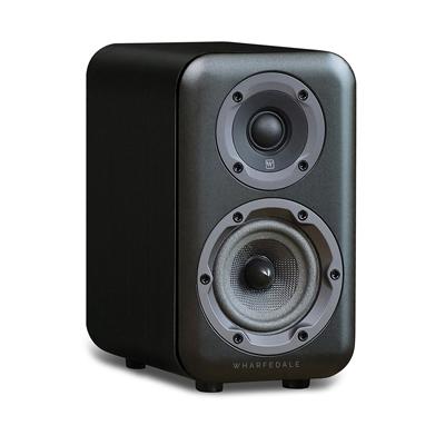 Wharfedale D300 Series 5.25-inch 2-Way D320 Black Bookshelf Speaker - Pair