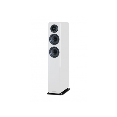 Wharfedale D300 Series 2.5-Way D330-WH White Floorstanding Speaker - Pair