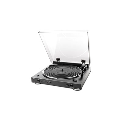 Denon DP-200USB Black Fully Automatic Turntable with MP3 Encoder