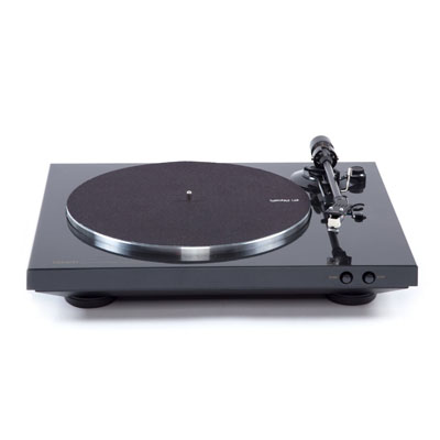 Denon DP-300F Black Fully Automatic Analog Turntable