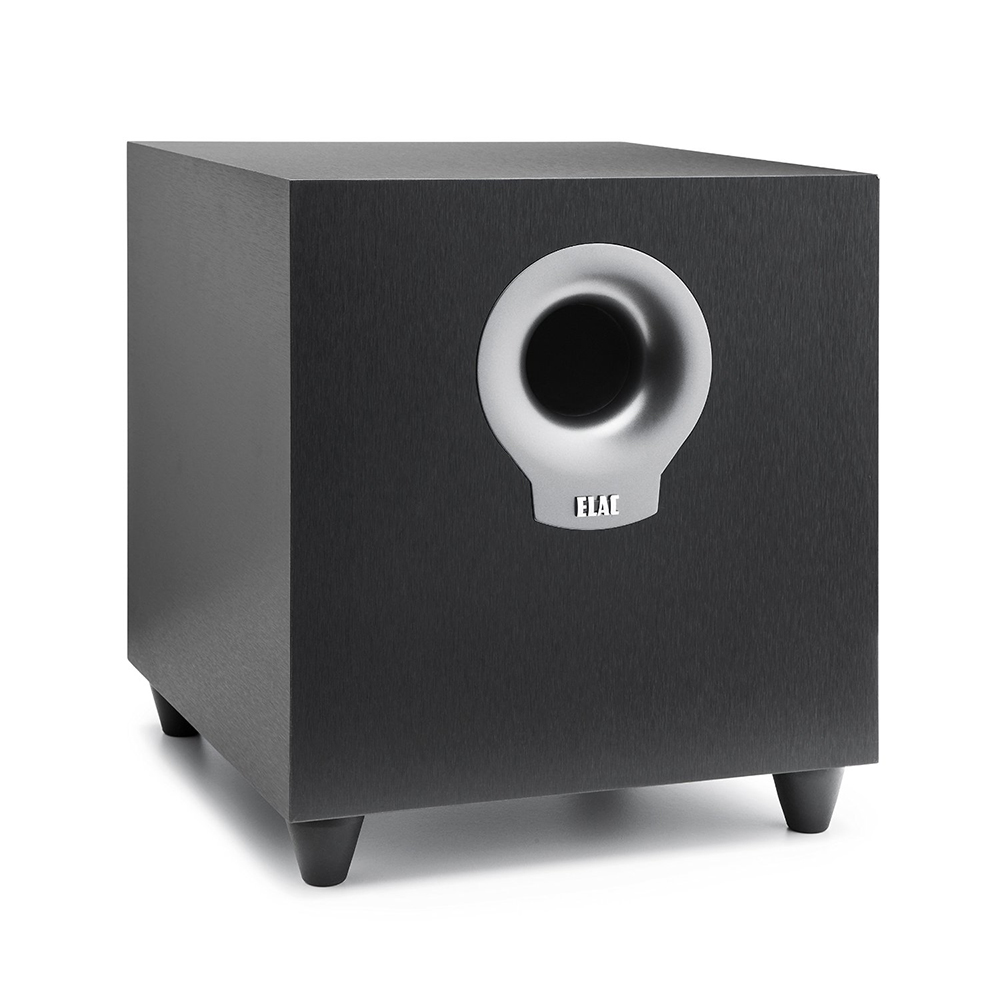 Elac Debut Subwoofers S10 10 Inch 200 Watt Powered Subwoofer