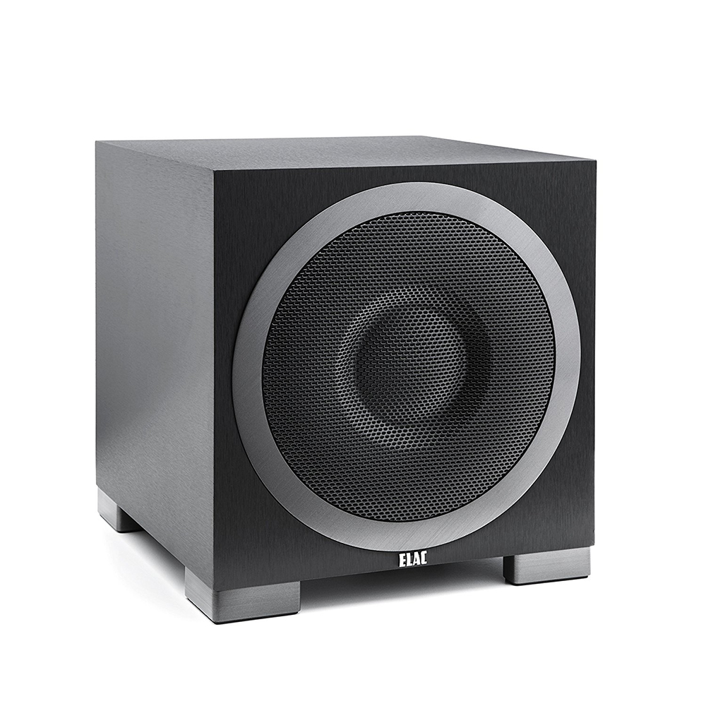 Elac Debut S10EQ 10 Inch 400W Powered Subwoofer with App Control/Auto EQ