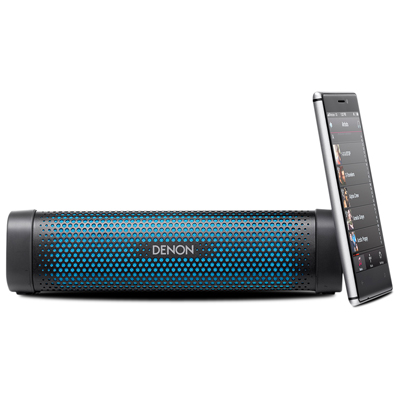 Denon DSB-100 Water Resistant Portable Bluetooth Speaker with NFC