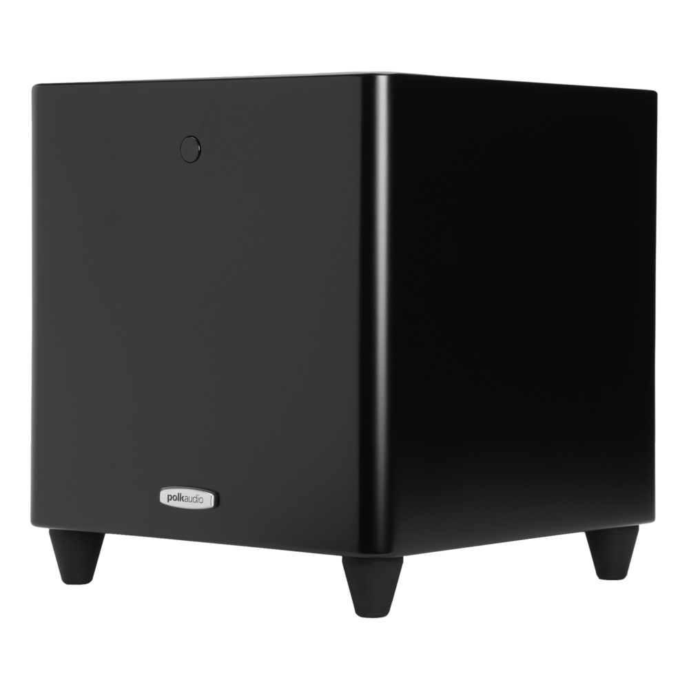 Polk Audio DSW-Pro-440wi Black 8-Inch High Performance Subwoofer System
