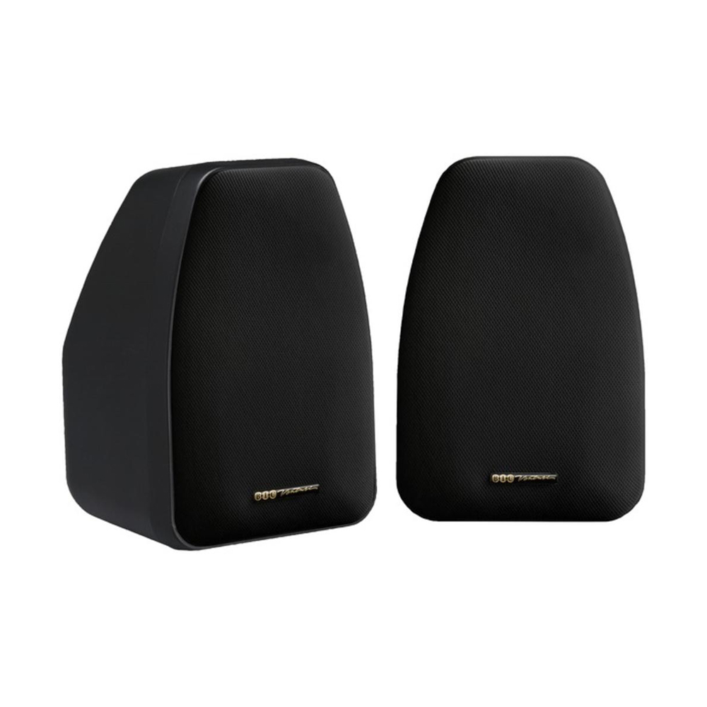 BIC America Adatto DV52SI Indoor/Outdoor Speakers - Pair - Black