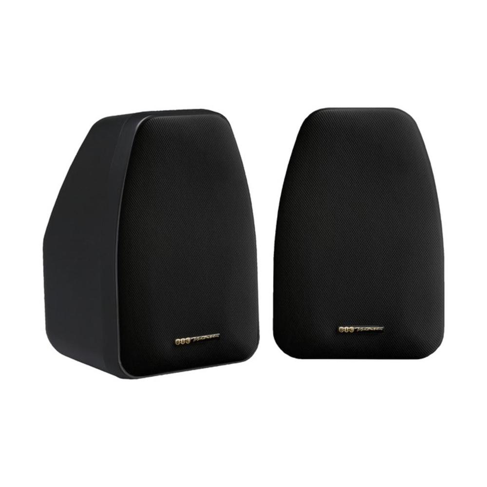 BIC America Adatto DV52SI Indoor/Outdoor Speakers - Pair - Black