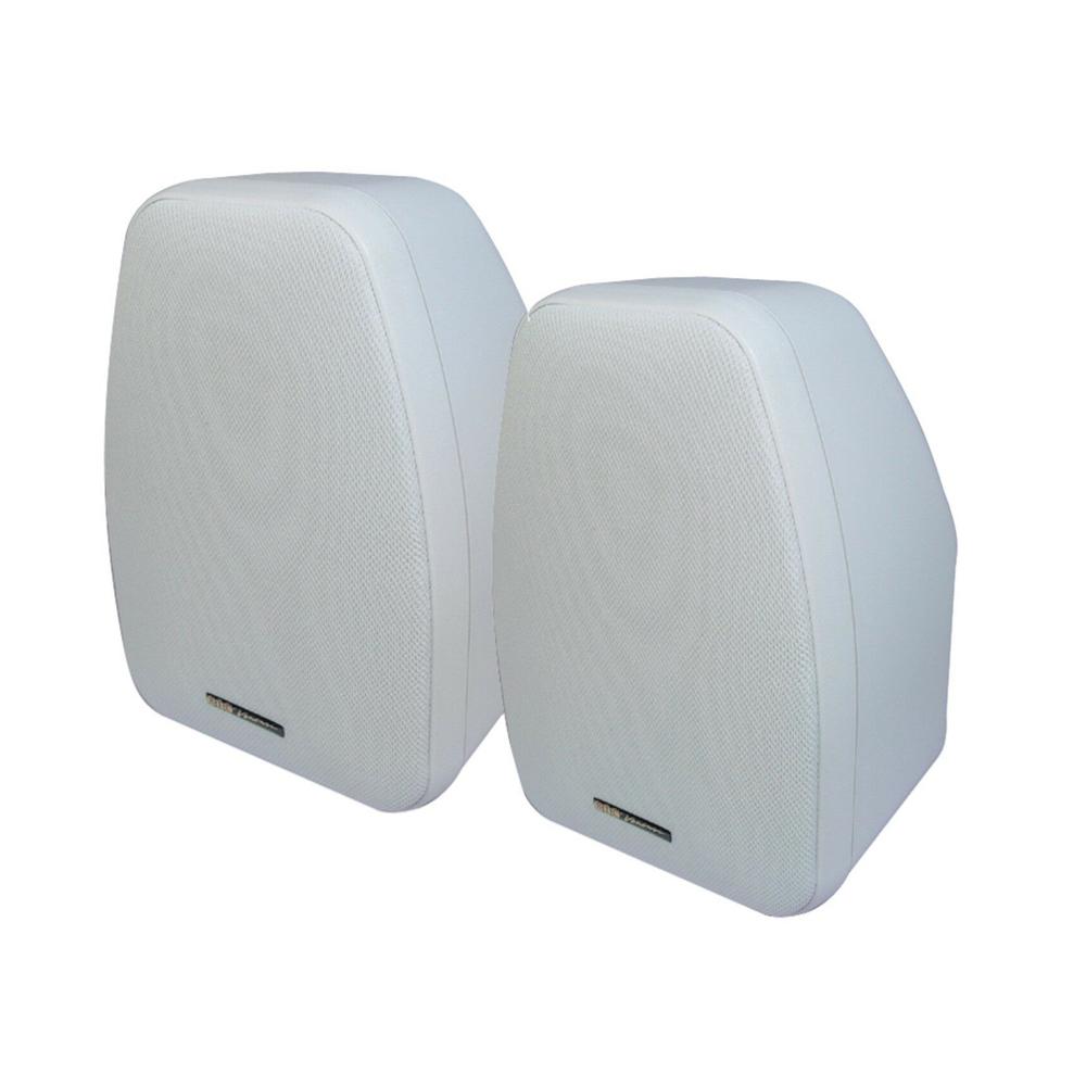 BIC America Adatto DV52SI Indoor/Outdoor Speakers - Pair - White