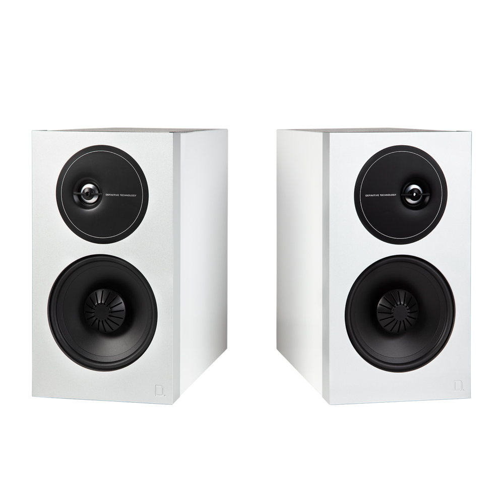 Definitive Technology Demand D11 -WH White Bookshelf Speakers - Pair