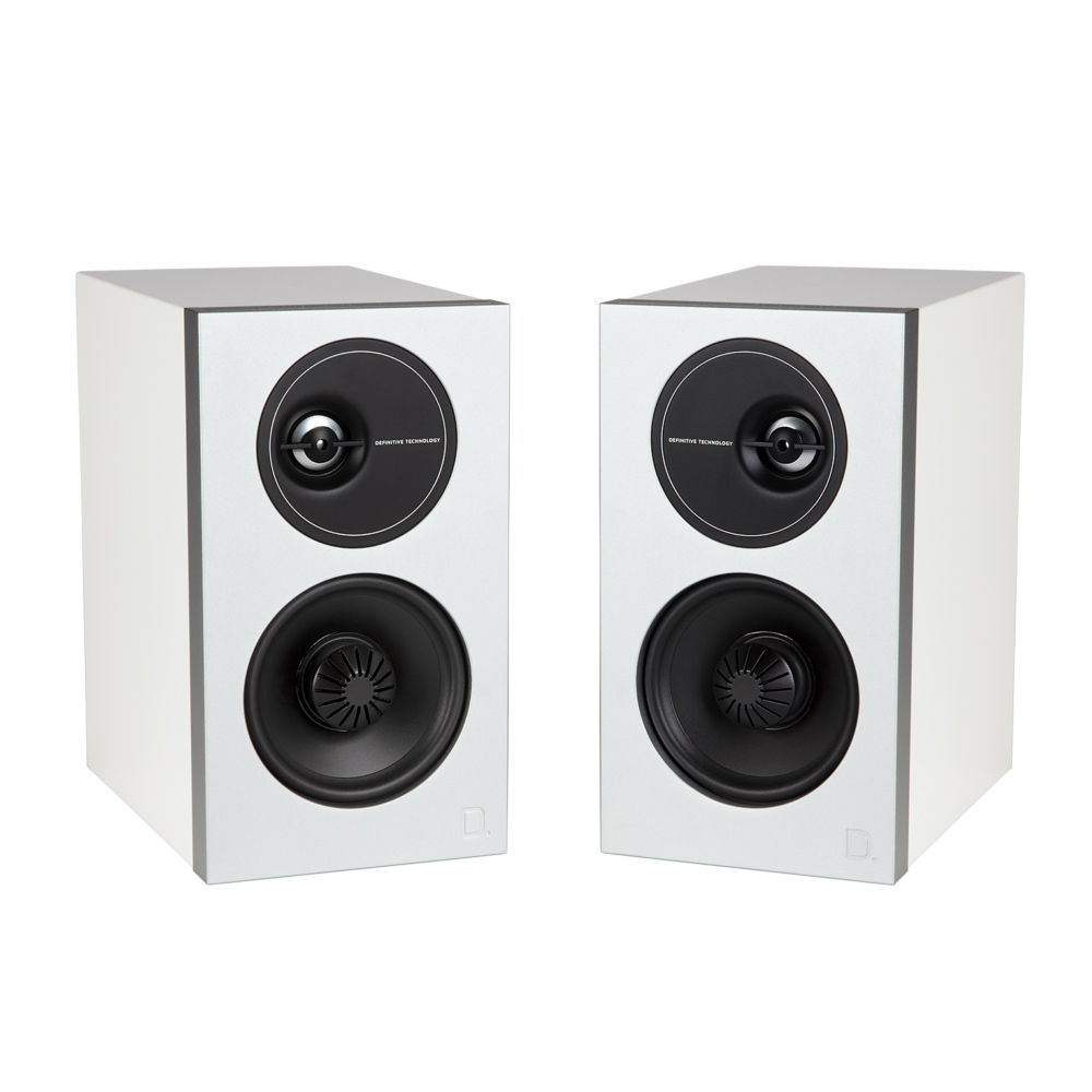 Definitive Technology Demand D7 -WH White Bookshelf Speakers - Pair