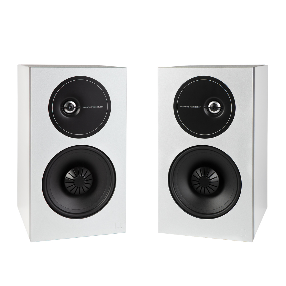 Definitive Technology Demand D9 -WH White Bookshelf Speakers - Pair