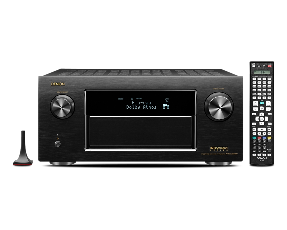 Denon AVR-X7200WA Networked A/V Receiver with Wi-Fi and Bluetooth