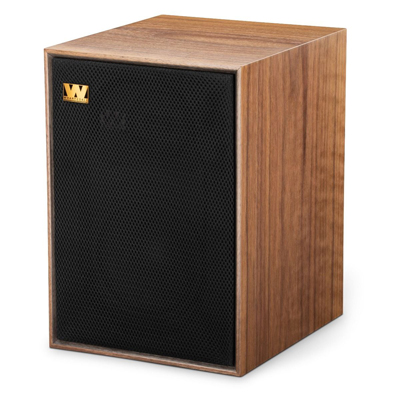 Wharfedale 6.5-inch 2-Way Denton 85th-W Walnut Classic Bookshelf Speaker - Pair