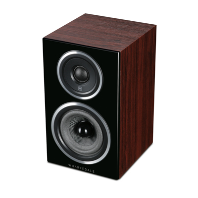 Wharfedale Diamond 11 Series 4-inch 2-Way Diamond 11.0-R Rosewood Bookshelf Speaker - Pair